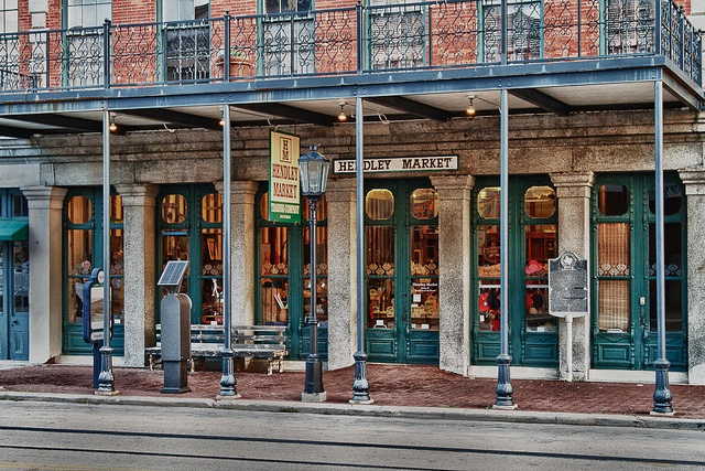 Shopping on the Strand in Galveston