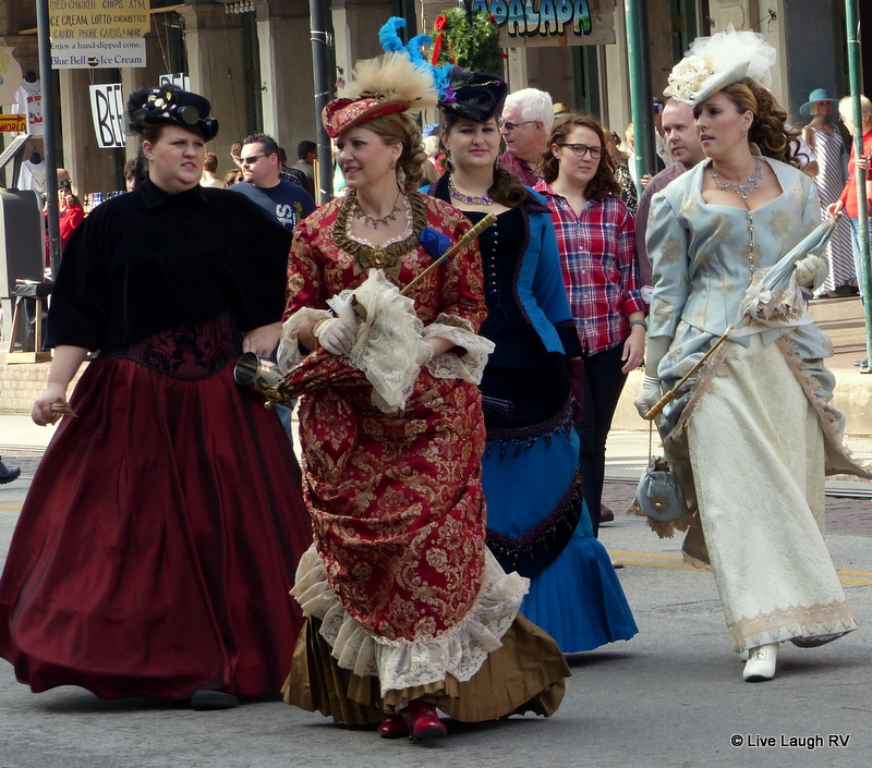 Dickens on the Strand in Galveston